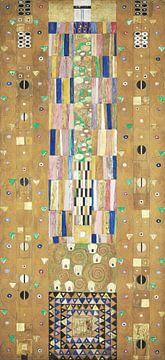 Werktekening voor de Stoclet-fries, deel 9, Gustav Klimt