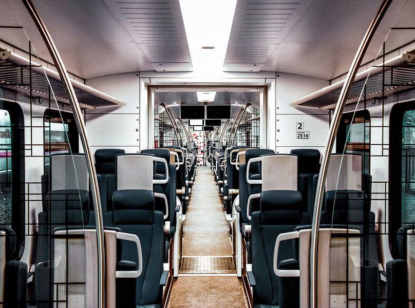 De nieuwe ns trein van Jesse Wilhelm