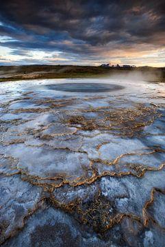 Hveravellir, IJsland von Sven Broeckx