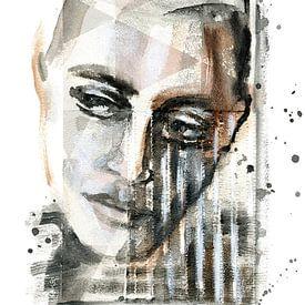 Nadenkend van ART Eva Maria