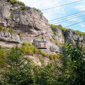 Seilbahn in Chiatura.
