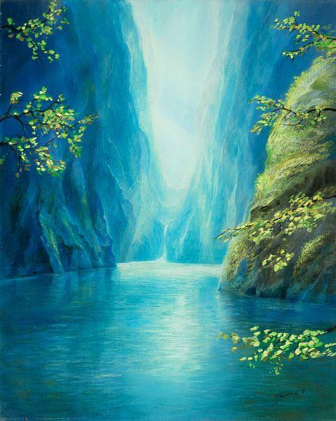 Blaue Schlucht von Silvian Sternhagel
