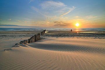 Wandelen op het strand van FotoBob