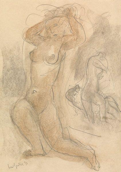 Deux nus agenouillés sur Eigenwijze Fotografie