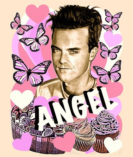 Angel Cupcake van