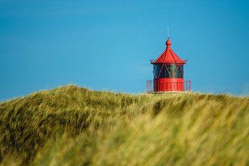 Lighthouse in Norddorf on the island Amrum van Rico Ködder