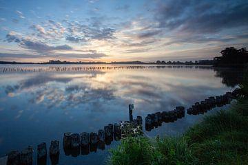 Zonsopkomst Natuurgebied Botshol Vinkeveen van Peter Haastrecht, van