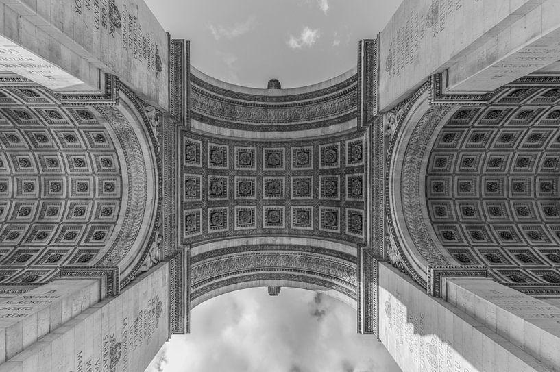 De Arc de Triomphe in Parijs van MS Fotografie | Marc van der Stelt