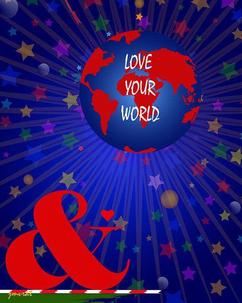 Hou van je wereld JM00118 van Johannes Murat