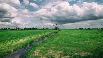 Windmolens in Hoogmade  van Annemiek van Eeden