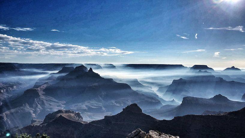 Goede morgen, Crand Canyon van SPOOR Spoor