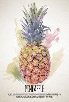 Fruities Pineapple sur Sharon Harthoorn
