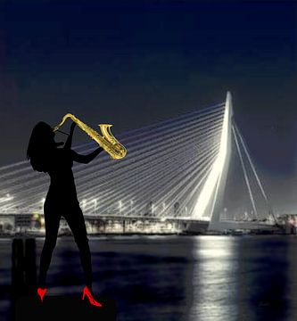 Rotterdam saxofonist van ! Grobie