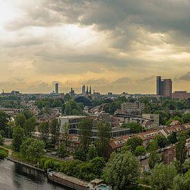 Skyline van Tilburg van Freddie de Roeck
