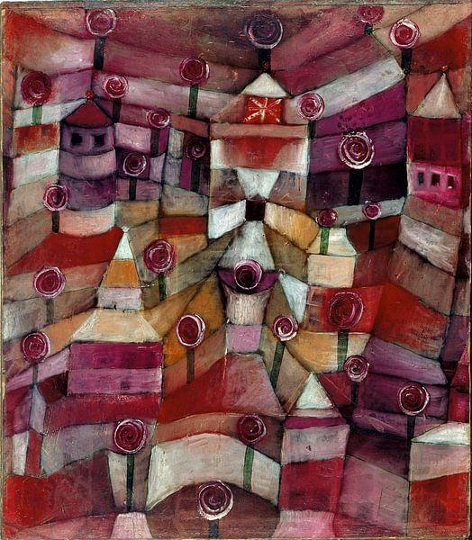 Paul Klee.Rosengarten von 1000 Schilderijen