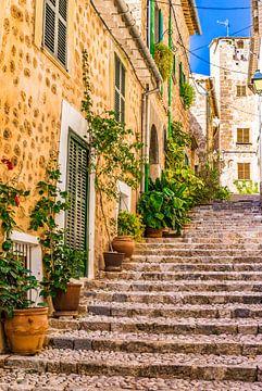 Fornalutx op Majorca, Spanje Balearen van Alex Winter