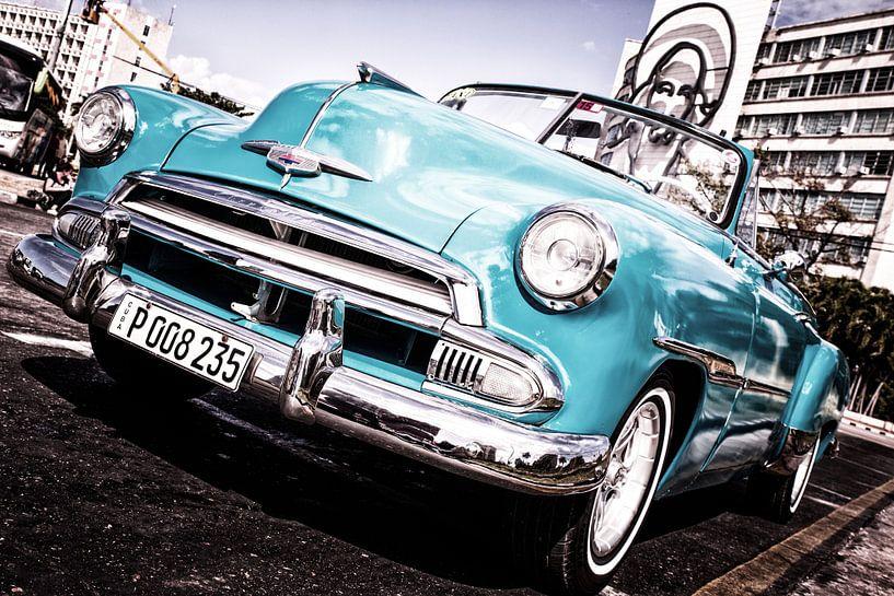 Close -up Cubaanse Auto van Tonny Visser-Vink