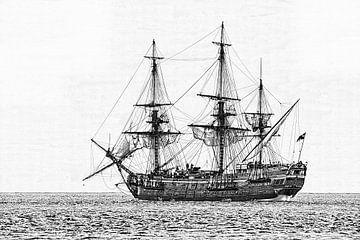 Zeilschip de Götheborg von eric van der eijk
