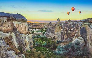 Cappadocian sunrise van
