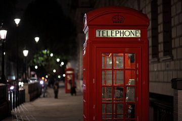 Telephone booth van