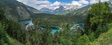 Bergsee in den Alpen von Bob de Bruin