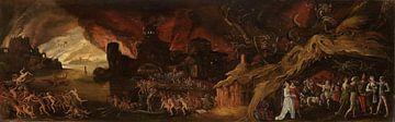 Das jüngste Gericht und die sieben Todsünden, Jacob Isaacsz. van Swanenburg