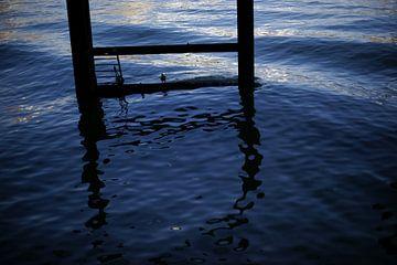 Raamwerk in golvende rivier van Alice Berkien-van Mil