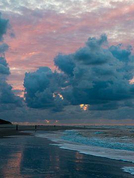 Het strand van Vlieland van Koen Leerink
