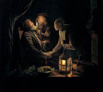 Zahnarzt bei Kerzenlicht, Gerrit Dou