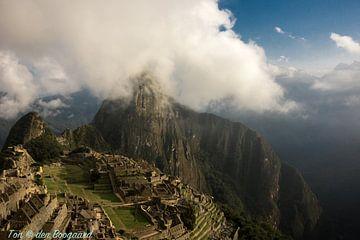 Machu Picchu, Peru, Bergen, Inca von Ton van den Boogaard