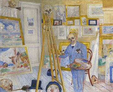 James Ensor. Der Gemälderahmen