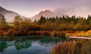 Zelenci-See in Slowenien von Adelheid Smitt