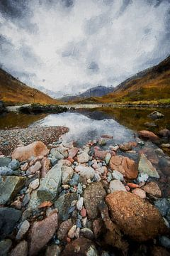 Schottland von Digitale Schilderijen