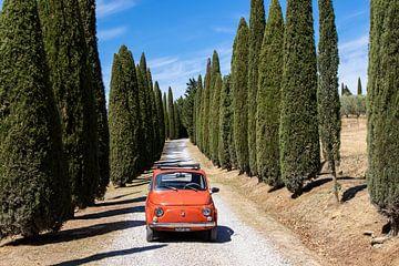 Fiat in der Zypressengasse (4) von Jolanda van Eek