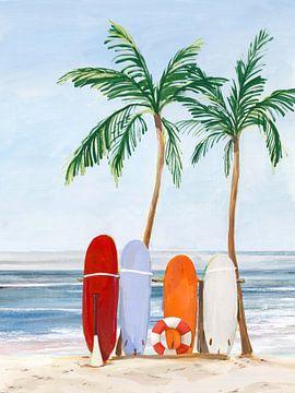 wave-Catchers, Isabelle Z  von PI Creative Art