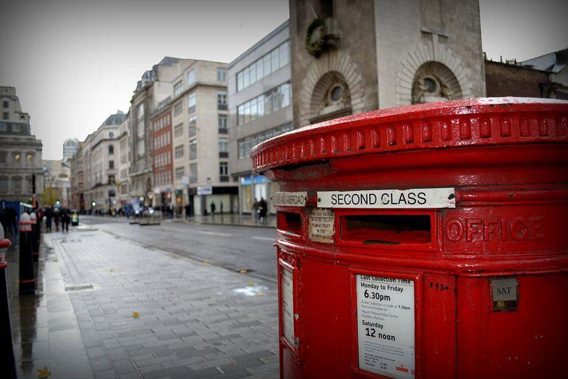 Londen brievenbus van Robin van Maanen
