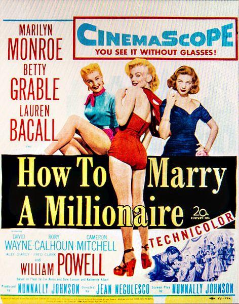 Marilyn Monroe How To Marry A Millionaire. van Brian Morgan