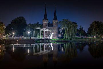 Delft Oostpoort van