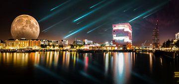 Skyline antwerpen von Bjorn Dockx