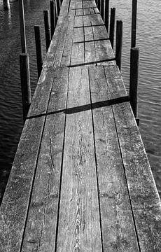 Steg am See von Thomas Jäger
