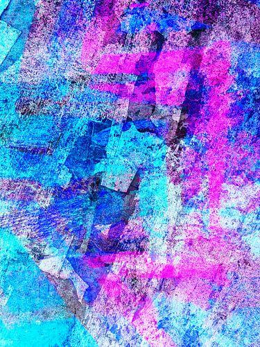 Modern, Abstract kunstwerk - I Dreamed I Found The Shoreline (Rechts) van Art  By Dominic