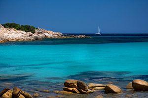 Sardinie:  Spiaggia/Beach Capriccioli van Jaap van Lenthe
