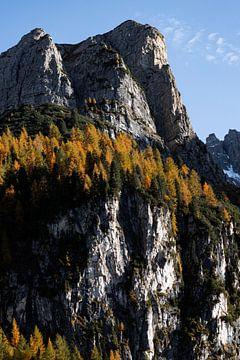 Herfst in de Oostenrijkse Dolomieten van Hidde Hageman