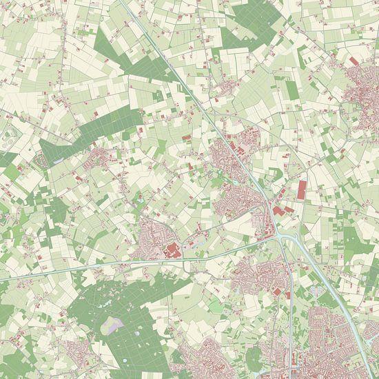 Kaart vanLaarbeek van Rebel Ontwerp
