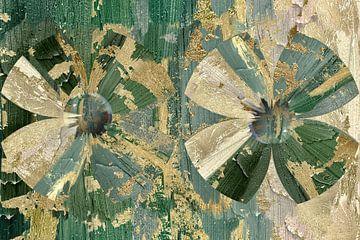 Bien camouflé - fleurs de la jungle sur Christine Nöhmeier