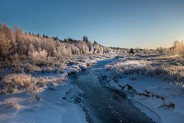 De winter is begonnen. van Marco Lodder