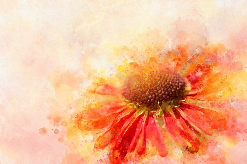 Bloemen 5 van Silvia Creemers