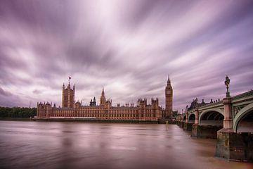Londen Parliament sur