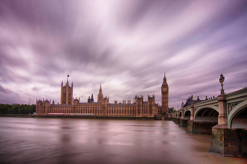 Londen Parliament van Bert Meijer
