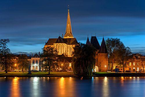 Bovenkerk Kampen met Koornmarktspoort